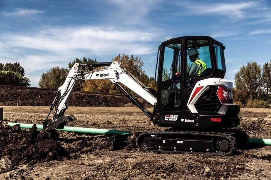 New Bobcat E35 Compact Excavator (Extendable Arm)