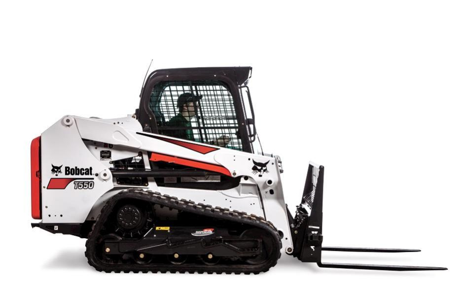 New Bobcat T550 Compact Track Loader (Roller Suspension Option)